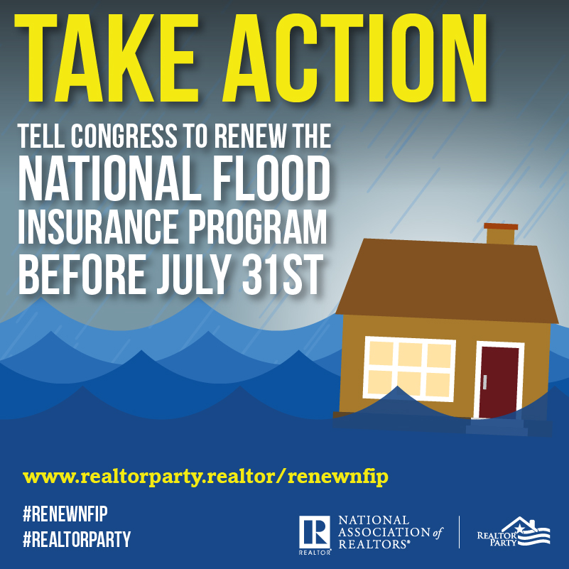 Call For Action - Renew the National Flood Insurance Program