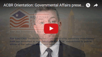 WATCH » How ACBR's Governmental Affairs Impacts YOUR Business